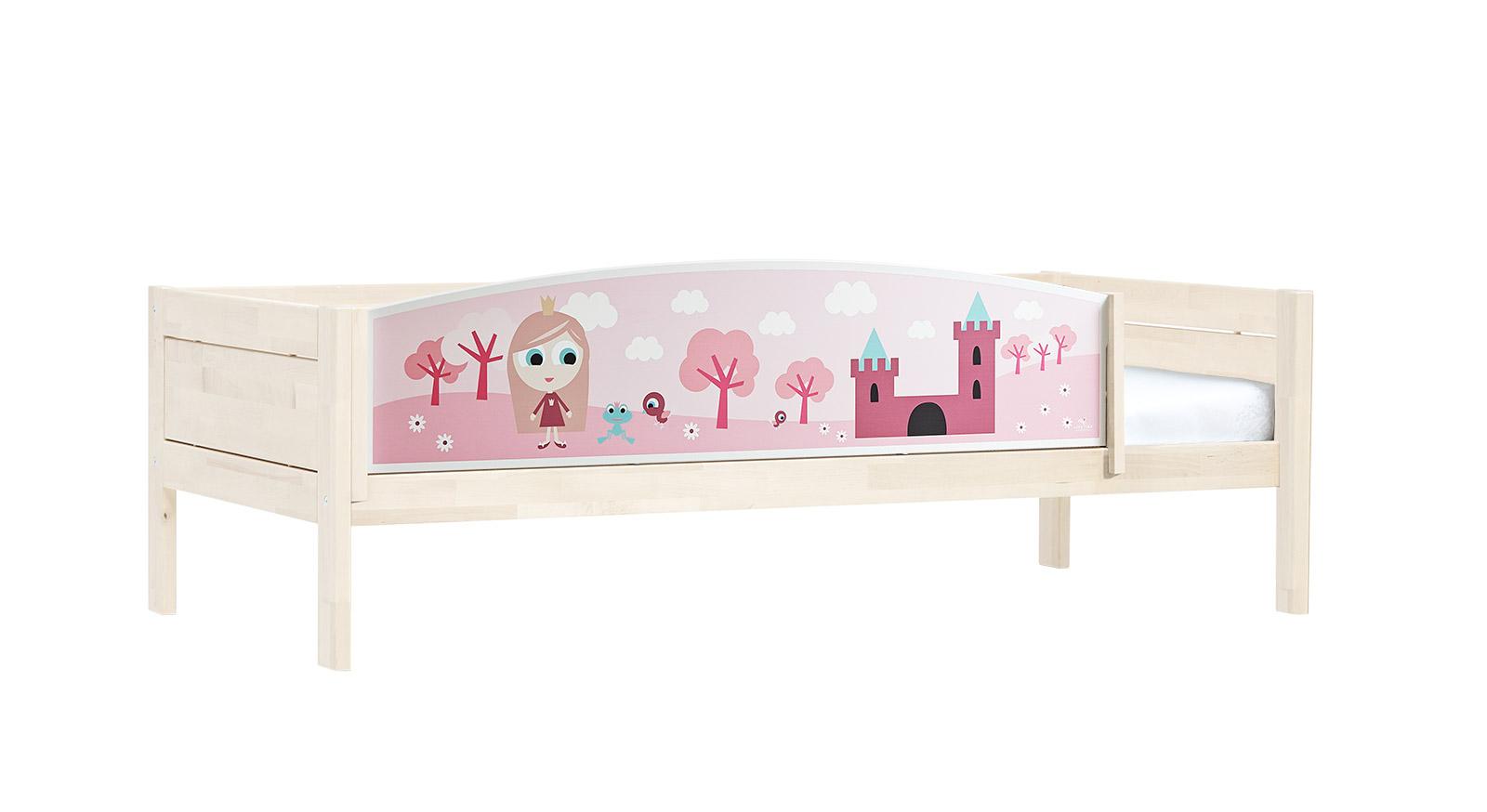 Lifetime Kinderbett Prinzessin mit weiß lasiertem Holz