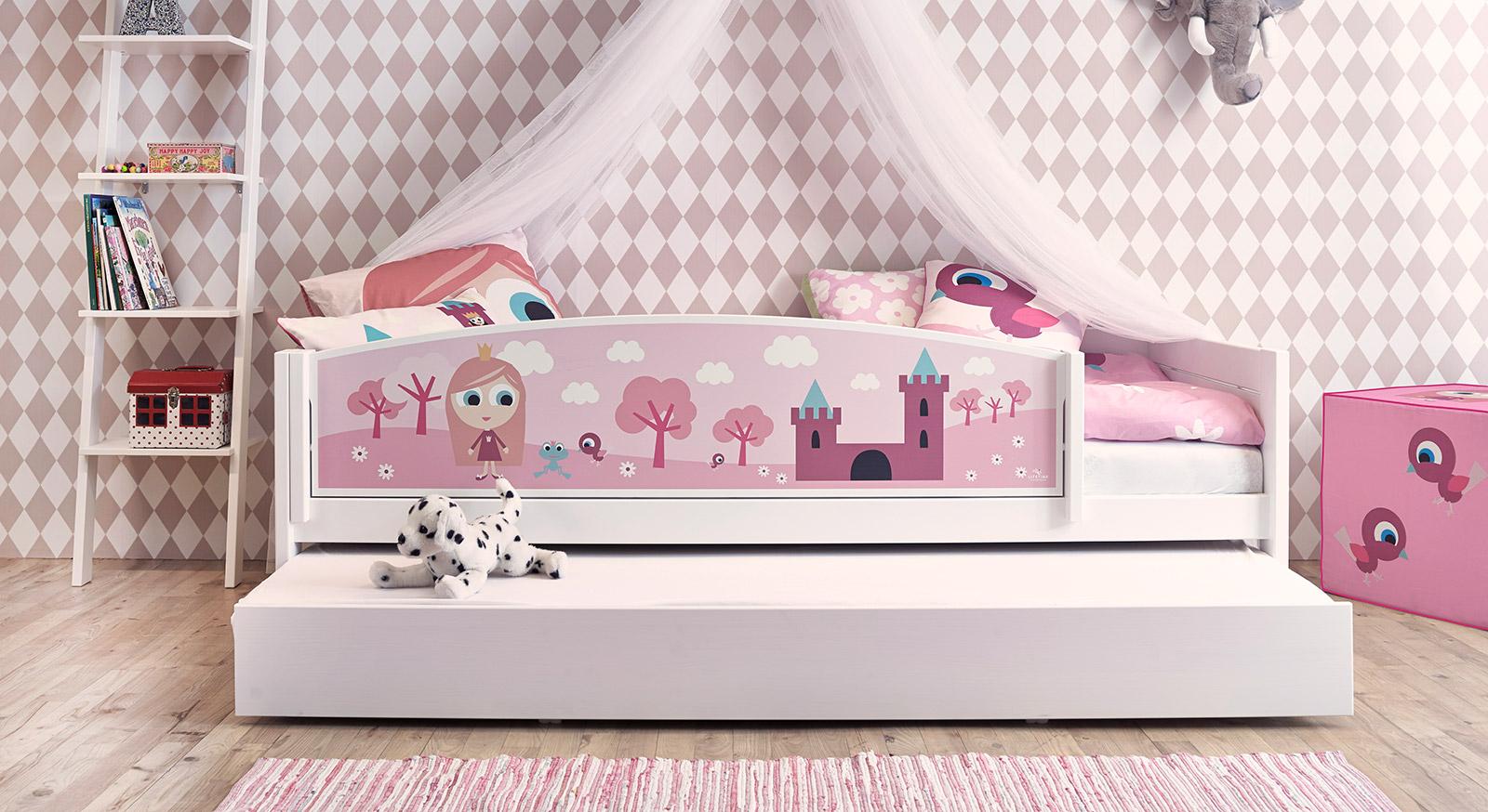 Kinderbett für kleine Prinzessinnen - LIFETIME Prinzessin