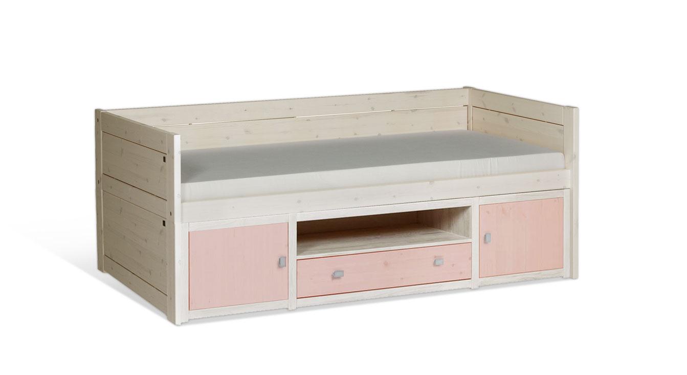 lifetime kojenbett original in wei als jugend stauraumbett. Black Bedroom Furniture Sets. Home Design Ideas