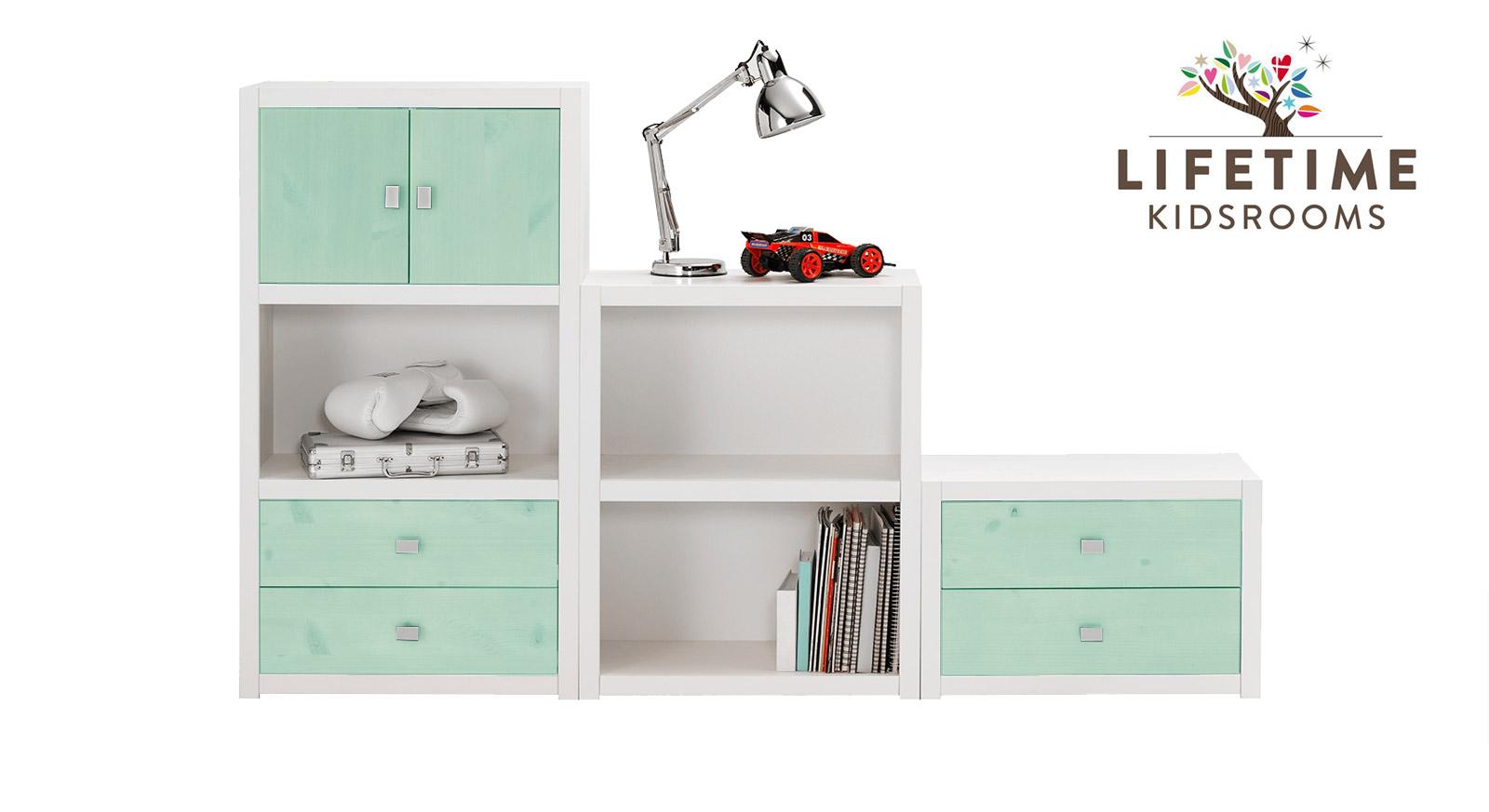 lifetime regalwand f r dachschr gen original gr e s. Black Bedroom Furniture Sets. Home Design Ideas