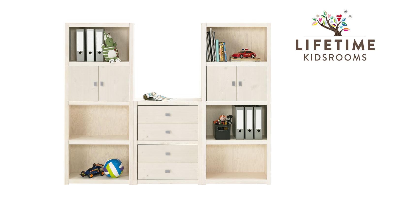 lifetime regalwand z b in wei original in gr e m. Black Bedroom Furniture Sets. Home Design Ideas