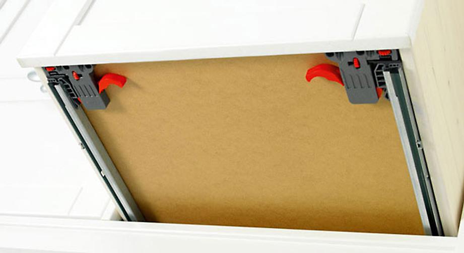LIFETIME Regalwand Original Schubladen mit gedaempftem Selbsteinzug