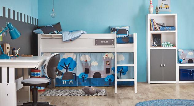 LIFETIME Schlafzimmer Ritter  mit passendem Zubehör
