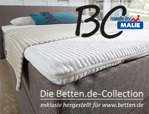 luxus topper f r boxspringbetten von malie. Black Bedroom Furniture Sets. Home Design Ideas