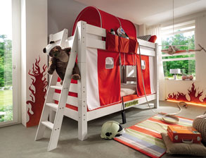 Massives Stockbett Kids Dreams aus Kiefernholz