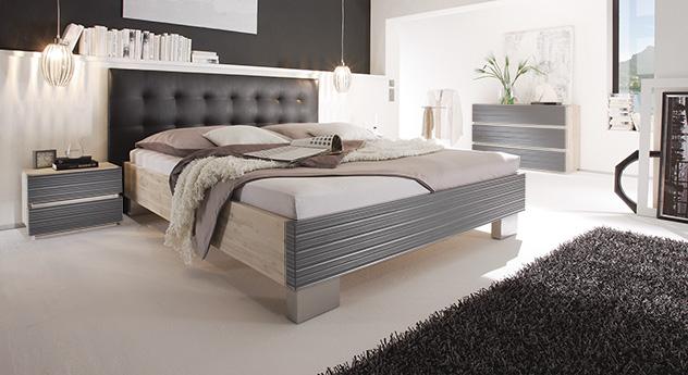 Bari Bett Akazie in schwarz und grau