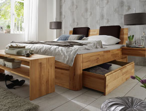 betten mit bettkasten und schubladen g nstig kaufen. Black Bedroom Furniture Sets. Home Design Ideas