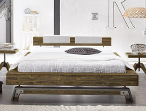 trendige hasena factory line bettgestelle kaufen. Black Bedroom Furniture Sets. Home Design Ideas