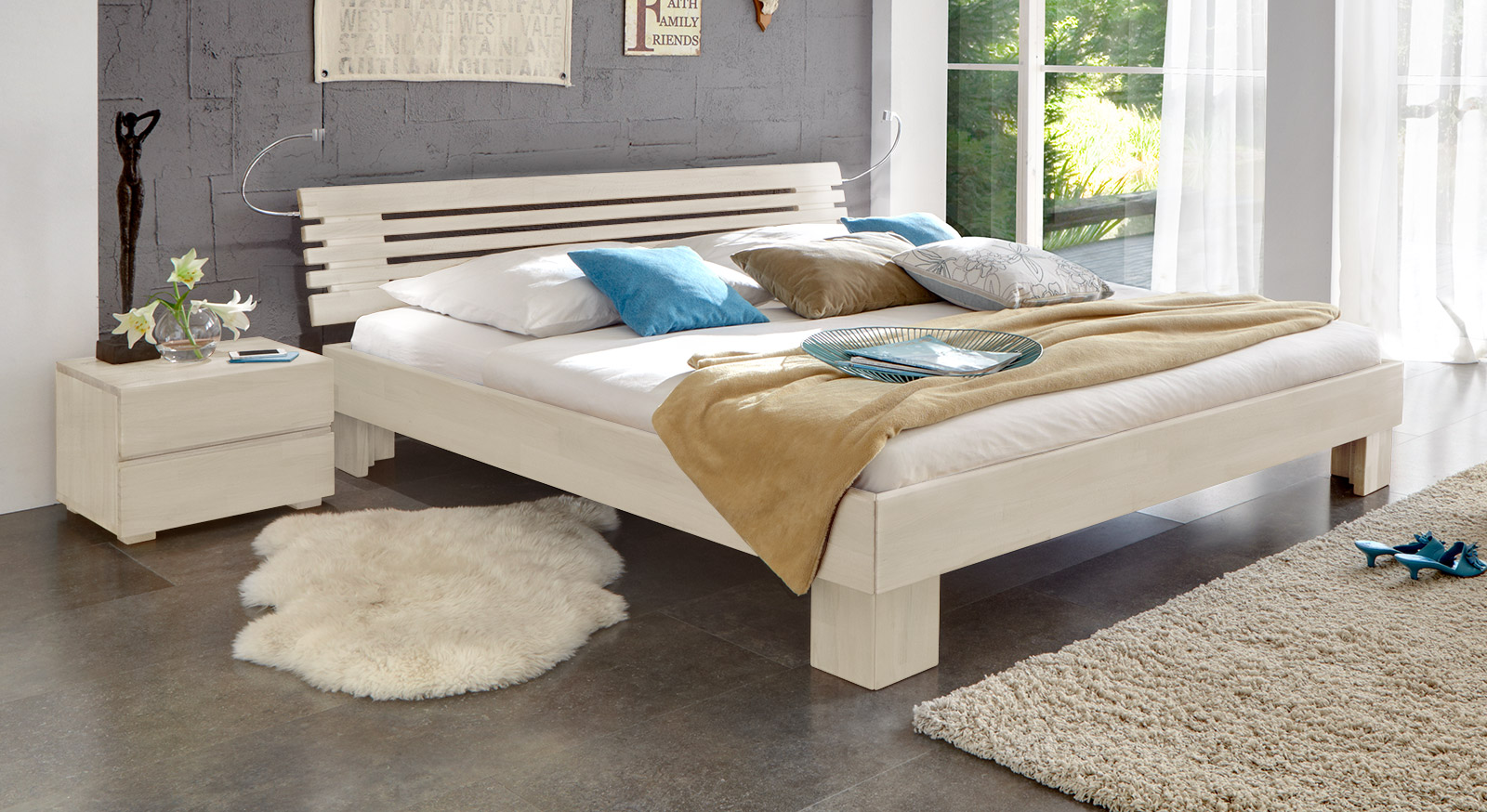 Rustikale Betten Im Landhausstil Hier Kaufen Betten De
