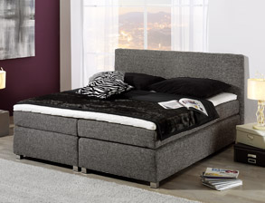 boxspringbetten 140 200 cm mit und ohne topper. Black Bedroom Furniture Sets. Home Design Ideas
