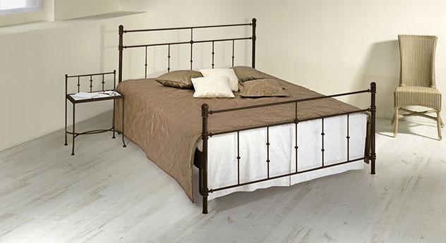 doppelbett aus metall 180x200 in komforthöhe - astara, Hause deko