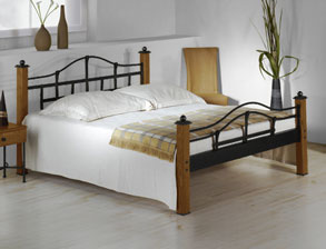 stabile metallbetten g nstig kaufen im online betten shop. Black Bedroom Furniture Sets. Home Design Ideas