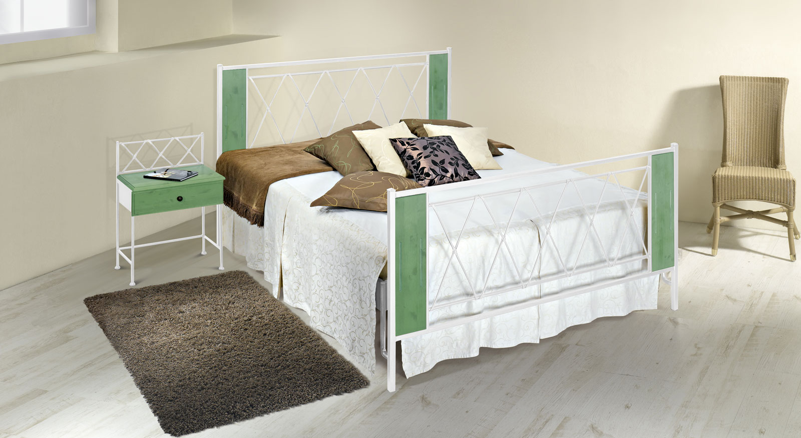 bett aus metallgestell das beste aus wohndesign und m bel inspiration. Black Bedroom Furniture Sets. Home Design Ideas
