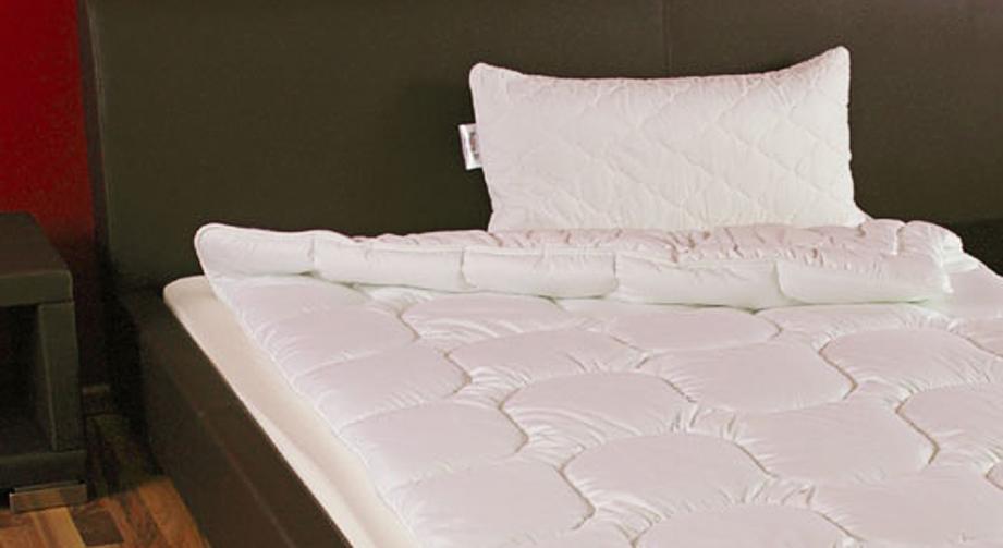Microfaser-Leicht-Bettdecke Wiesental Sommer
