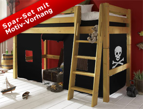 coole betten f r jungs und junge m nner kaufen. Black Bedroom Furniture Sets. Home Design Ideas