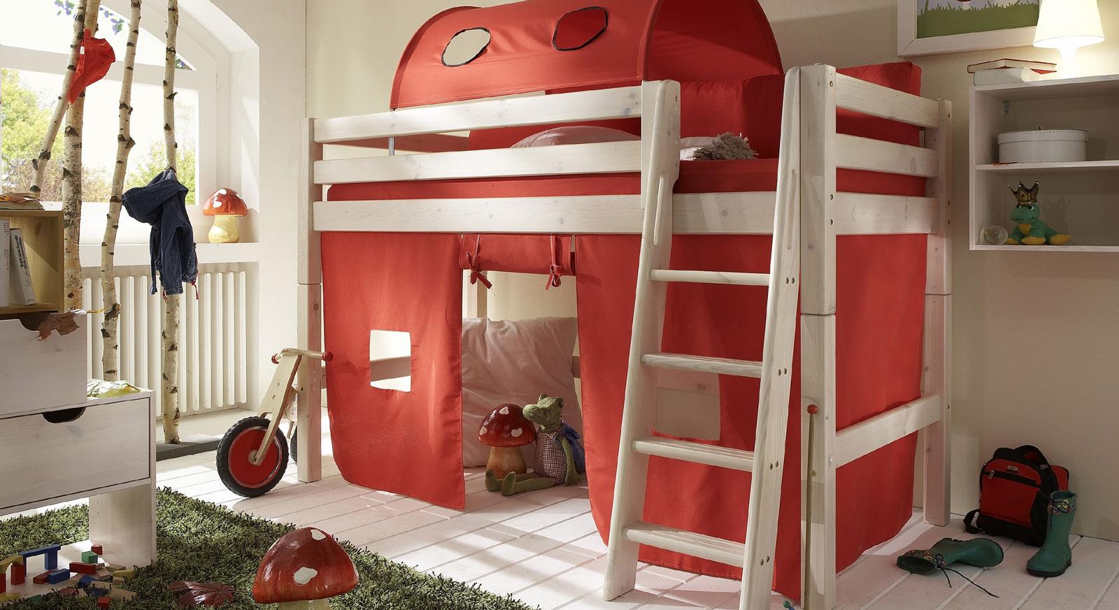Passende Produkte zum Umbau von Midi-Hochbett Kids Paradise