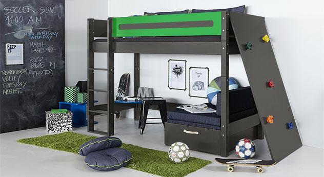 Passende Produkte für das Midi-Hochbett Kids Town mit Kletterwand