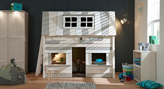 Midi-Hochbett Villa mit passenden Produkten