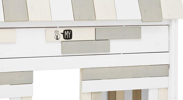 Midi-Hochbett Villa mit schönen Details