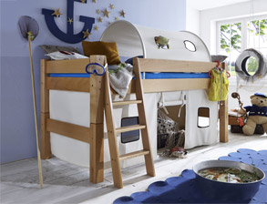 Kinderhochbett für zwei  Kinderhochbett - Kinderhochbetten günstig kaufen | BETTEN.de