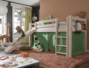 tolle kinderbetten mit rutsche g nstig kaufen. Black Bedroom Furniture Sets. Home Design Ideas
