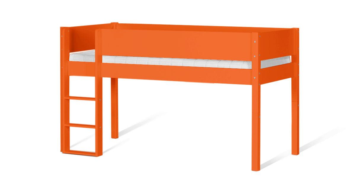 Mini-Hochbett Kids Town Color in Orange