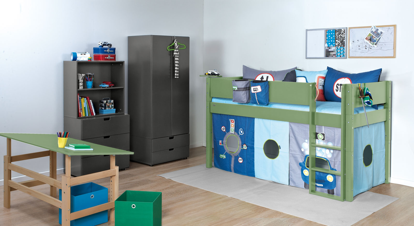 Passende Produkte zum Mini-Hochbett Kids Town Color