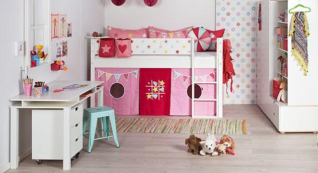 Mini-Hochbett Kids Town Sterne mit passenden Produkten