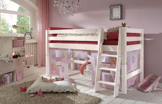 kinder hochbett prinzessin g nstig kaufen. Black Bedroom Furniture Sets. Home Design Ideas