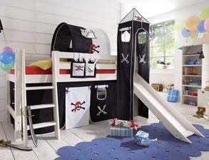 Kinderhochbett mit rutsche  Kinderhochbetten mit Rutsche günstig kaufen | BETTEN.de