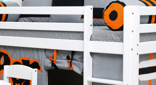 Mini-Hochbett Skater mit robustem Fallschutz