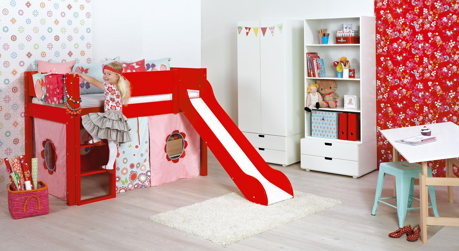 Mini-Rutschen-Hochbett Kids Town mit passenden Produkten