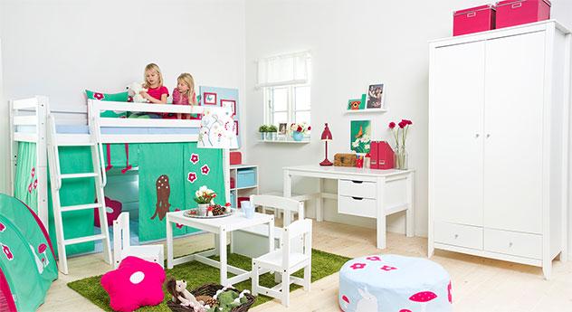 Mittelhohes Bett Kids Royalty mit passenden Produkten