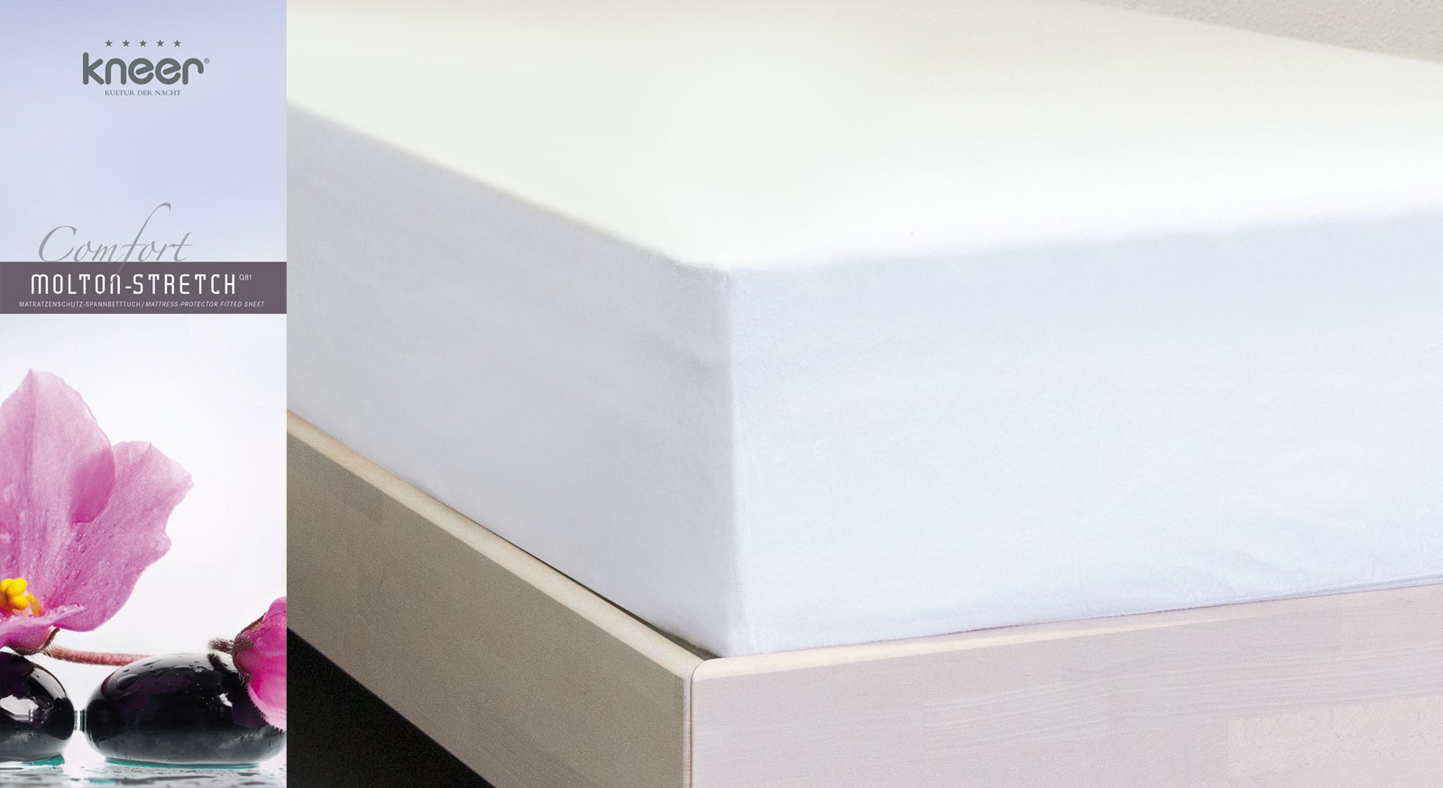 molton stretch spannbetttuch schutz f r hohe matratzen comfort. Black Bedroom Furniture Sets. Home Design Ideas