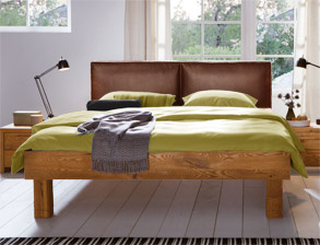edle hasena oak wild massivholzbetten online kaufen. Black Bedroom Furniture Sets. Home Design Ideas