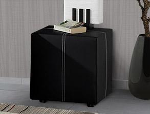 boxspringbett ohne r ckenlehne in schwarz weiss athen. Black Bedroom Furniture Sets. Home Design Ideas