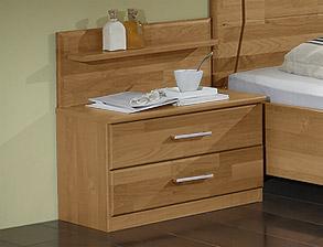 Eckkommode Modern : Moderner Nachttisch Beyla mit Paneel  Betten.de