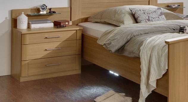 Nachttisch Dabola 60 cm breit