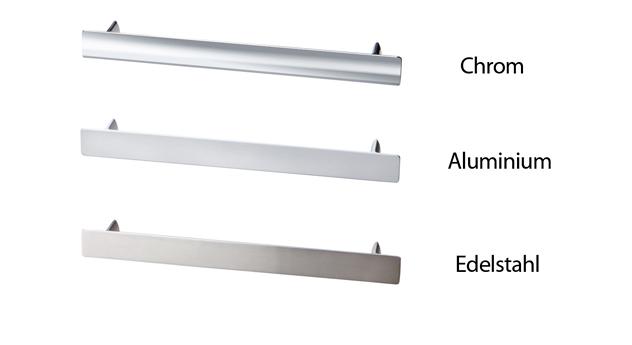 Nachttisch-Griffe aus Chrom, Aluminium und Edelstahl