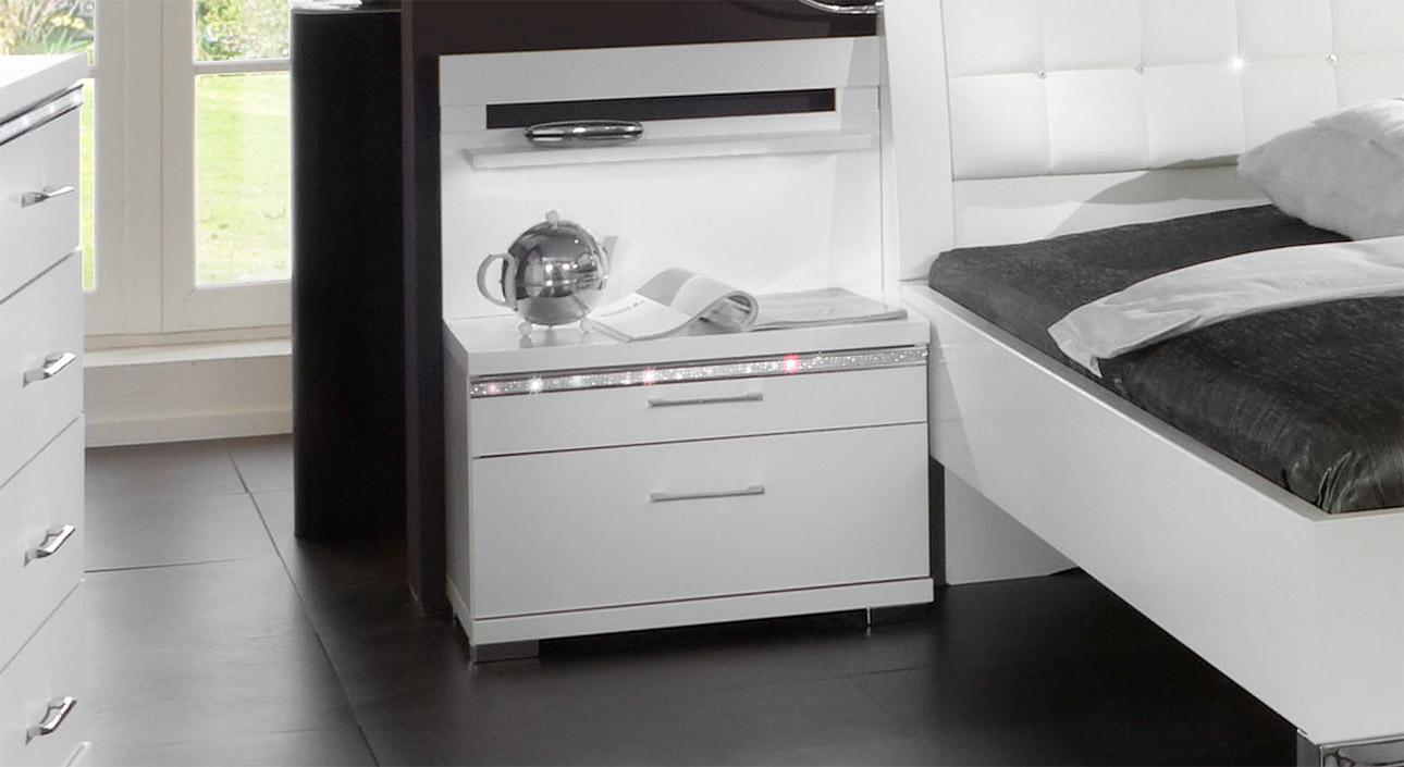 nachttisch mit farbwechsel led beleuchtung huddersfield. Black Bedroom Furniture Sets. Home Design Ideas
