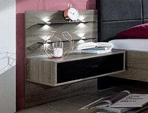 Attraktive Design-Nachttische auf Rechnung kaufen