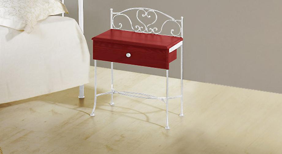 nachttisch metall silber simple fabulous nachttisch. Black Bedroom Furniture Sets. Home Design Ideas