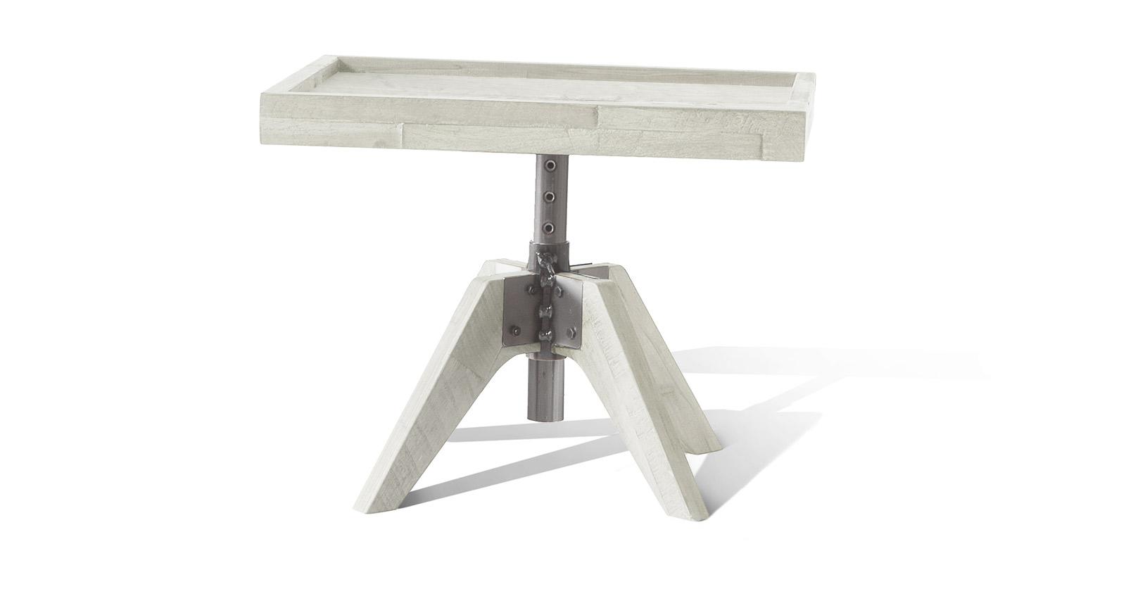Nachttisch Molina in weißem Akazienholz