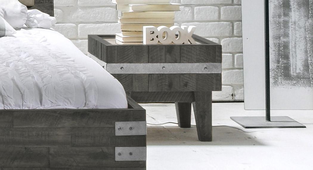 nachttisch im industrial design kaufen - paraiso, Schlafzimmer design