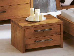 nachttisch eiche. Black Bedroom Furniture Sets. Home Design Ideas