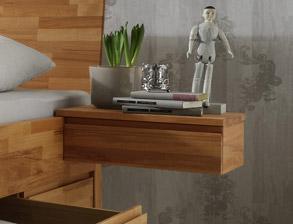 Komplett-Schlafzimmer aus Kernbuche - Zarbo | BETTEN.de
