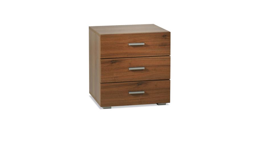 nachttisch mit soft close schubladen kopenhagen. Black Bedroom Furniture Sets. Home Design Ideas