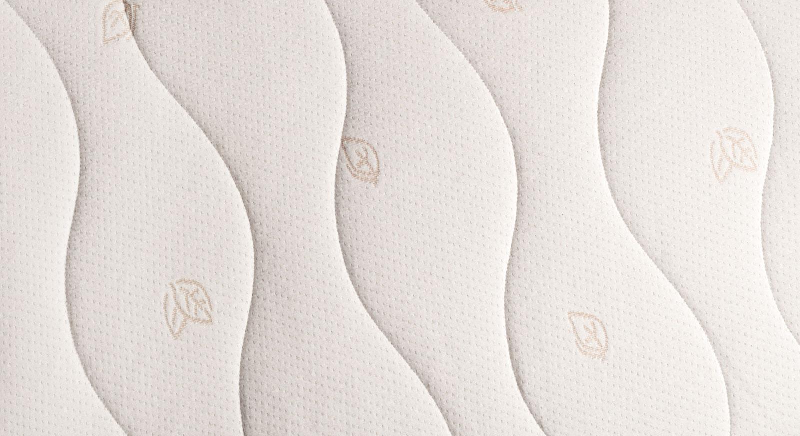 Naturlatex-Matratze orthowell bio mit elastischem Baumwollbezug