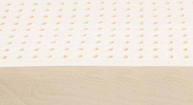 Naturlatex-Matratze orthowell bio mit perforiertem Latexkern