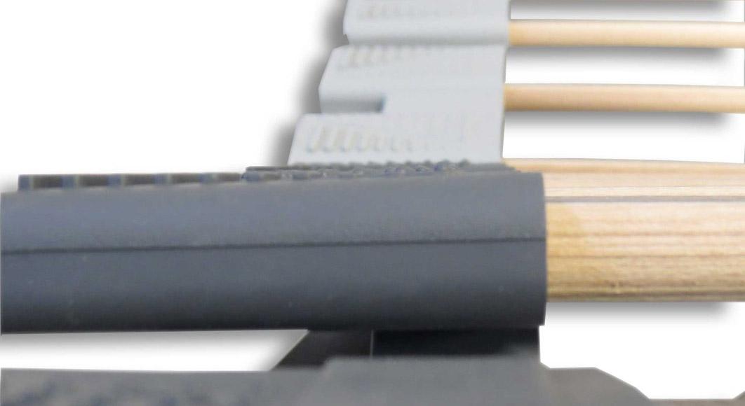 Orthowell Ultraflex Lattenrost mit Kautschuk Kappen